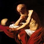 42 Караваджо. Блж. Иероним, 1605-06. Музей м-ря Монсеррат, Каталония