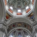 71в Кафедральный собор  Зальцбурга, интерьер