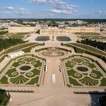 89a Панорама Версальского дворца и парка