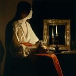 91 Жорж де Латур. Кающаяся Мария Магдалина, 1635-40. Метрополитен