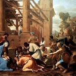 90а Никола Пуссен Поклонение волхвов, 1633. Дрезденская галерея