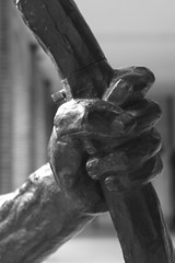 Héraklès archer (1909) (just.Luc) Tags: nu nude nudo desnudo naakt nackt naked man male homme hombre uomo mann bn nb zw monochroom monotone monochrome bw sculpture escultura statue estatua statua beeld beeldhouwwerk skulptur parijs parigi paris îledefrance france frankrijk frankreich francia frança brons bronze art kunst metal metaal museum museo musée museet museu muséebourdelle greekmythology mythology mythologie hercules hércules hercule herakles heracles eracle héraclès hand main