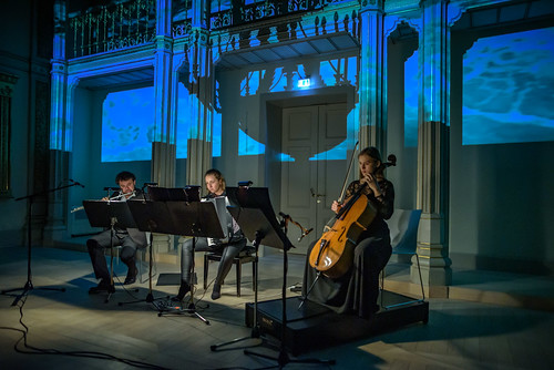 Das Trio  Synästhesie bei einem Benefizkonzert zugunstes des