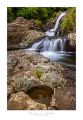 Kaiate Falls Te Puke New Zealand (Dominic Scott Photography) Tags: newzealand bayofplenty waterfalls waterfall rocks kaiate falls dominicscott sony sel2470gm ilce7rm3 manfrotto leefilters gmaster