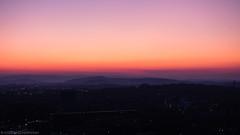 Deister Layers (katrin glaesmann) Tags: hannover neuesrathaus turmauffahrt sunset myhometown viewingplatform colours deister überdendeistergehen