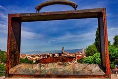 Mi son messo Firenze in valigia.... - I put Florence in my suitcase ... (Eugenio GV Costa) Tags: approvato outside valigia folon firenze toscana panorama cielo nuvole città florence tuscany sky clouds city