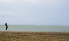 Open Air (CoolMcFlash) Tags: minimalistic minimalism minimalistisch simplicity person woman photograph landscape seascape sky horizont horizon neusiedlersee lake burgenland fujifilm xt2 negativespace copyspace frau fotografieren landschaft see himmel fotografie photography xf35mmf14 r