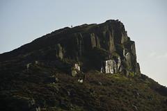 CloudWalker (Tony Tooth) Tags: nikon d7100 nikkor 55300mm rock outcrop gritstone darkpeak hencloud figure walker upperhulme staffs staffordshire staffordshiremoorlands