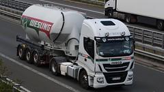 D - Wesling Iveco Stralis (BonsaiTruck) Tags: ffb feldbinder wesling iveco stralis lkw lastwagen lastzug silozug truck trucks lorry lorries camion caminhoes silo bulk citerne powdertank