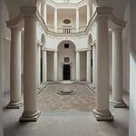 06с Ф.Борромини.  Сан- Карло алле Кватро фонтана, клуатр