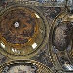 03b Иль Джезу. Джованни Баттиста Гаулли, роспись купола, 1670-е