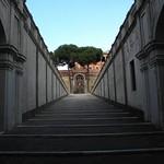 11c Палаццо Барберини, выход в сад