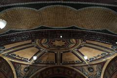 Foyer ceiling through window (PChamaeleoMH) Tags: architecture centrallondon coliseum london
