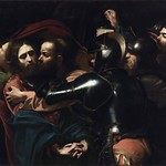 39 Караваджо. Поцелуй Иуды, 1602. Дублинская галерея, Ирландия