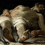 32 Аннибале Караччи. Мертвый Христос, 1582. Гос. галерея, Штутгарт
