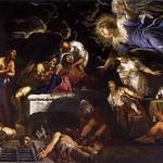 30 Тинторетто.  Ангел посещает св. Рока в тюрьме, 1567. Школа при соборе св.Рокка в Венеции