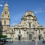 60 Хайме Борт. Фасад кафедрального собора Девы Марии, 1742-54. Мурсия, Испания