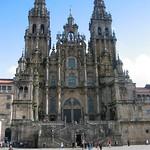 59 Фернандо Касас-и-Новоа. Фасад собора св. Иакова в Сантьяго-де-Компостела, 1738-50 гг