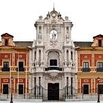 58 Антонио Матиас Фигероа. Портал дворца Сан Тельмо в Севилье. 1734