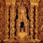 55а Хосе де Чурригера. Ретабло м-ря Сан-Эстебан (св.Себастьяна) в Саламанке, деталь
