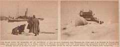 Torpedisten laten ijs springen op de Merwede (1929) (Barry van Baalen) Tags: gorinchem gorcum gorkum krantenknipsel knipsel torpedisten garnizoen ijs merwede rivier river bevroren frozen 1929