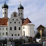 72 Азам и Циммерман. Монастырь Бенедиктбойрен. 1669-79. Бавария