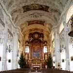 72а К.Азам и Циммерман. Монастырь Бенедиктбойрен. Главная церковь св.Бенедикта 1669-79