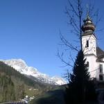 75 Паломническая церковь Марии в Герне, нач.XVIII в. Берхтесгаден