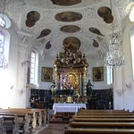 75а Церковь Марии в Герне, Интерьер. Берхтесгаден