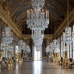88e Зеркальная галерея в Версале.