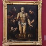 95 Рубенс. Смерть Сенеки, 1612-13. Мюнхенская Пинакотека