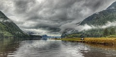 Es ist wolkig - It's cloudy ☁️ (Frank-Martens) Tags: knightinlet rainforest regenwald inlet fjord wolken hdr küste coast natur nature canada kanada british columbia reisen travel irix 15mm canon 7d