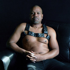 portraitwithnonchalance (Matter is Spirit) Tags: male seated harness chest man fine art artistic light shadow