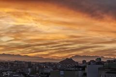 Atardece en Santander (therlo28) Tags: atardecer sol naranja cielo colores nubes