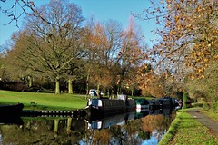 Peak Forest Canal, Furness Vale, Peak District (HighPeak92) Tags: reflections boats narrowboats canals peakforestcanal furnessvale peakdistrict derbyshire canonpowershotsx740hs