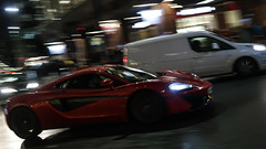 Zooming supercar (2/2) (PChamaeleoMH) Tags: centrallondon evening london motion panning street supercar victoria