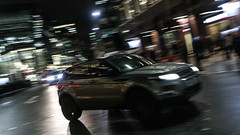 Urban runabout? (1/2) (PChamaeleoMH) Tags: centrallondon evening london motion panning street victoria