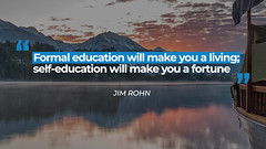 Quote by Jim Rohn (persona.lab) Tags: quotes education thoughts emotions personality jimrohn