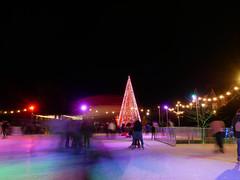 Christmas tree wonderland 48/52 (auroradawn61) Tags: afterdark christmastreewonderland bournemouth dorset uk england november 2019 cold flickrfriday iceskating rink 52weeksin2019