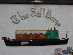 The Salt Barge (Thomas Kelly 48) Tags: panasonic lumix fz82 cheshirering cheshire canal trentandmerseycanal saltbarge saltbargepub marston