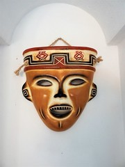 Mask (knightbefore_99) Tags: mexico mexican rincon guayabitos nayarit cool decameron west coast awesome art best indian native mask fun indio pottery