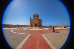 Malta -86 (coopertje) Tags: europe europa malta republic culture vacation island mediterranean mediterrane middellandsezee church architecture unesco world heritage site gozo ta pinu basilica
