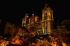 Malta -8 (coopertje) Tags: europe europa malta republic culture vacation island mediterranean mediterrane middellandsezee church evening night architecture unesco world heritage site