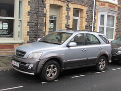 Kia Sorento XE CRDi LMN-710-A (Andrew 2.8i) Tags: carspotting spotting street car cars streetspotting united kingdom wales classic classics uk road korean suv sport utility vehicle isle man people carrier kia sorento