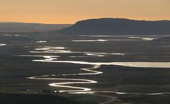 Horft til Laugarvatns (hó) Tags: laugarvatn ingólfsfjall iceland suðurland landscape october 2019 rivers streams lake mountain water