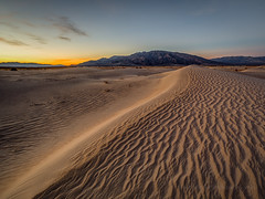 Pre-Dawn Dune Ridge (Jeff Sullivan (www.JeffSullivanPhotography.com)) Tags: sand dunes death valley national park geminid nationalpark california usa eastern sierra landscape nature travel night photography canon eos 5d mark iv photo copyright 2018 jeff sullivan december