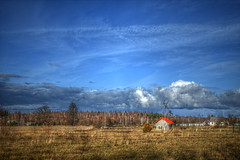 Nov.1 (ЕгорЖуравлёв) Tags: landscape field clouds november latvia