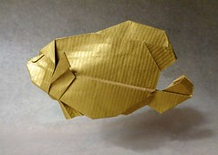Angel Fish (mrmicawer) Tags: papiroflexia origami papel angel fish pez mar