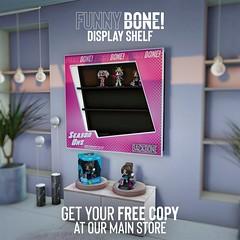 BackBone FunnyBone Display Shelf (BackBone SL) Tags: funnybone backbone free shelf display case