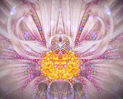 Double Dahlia (Fiona Katarina) Tags: iphone pink flower dahlia fkimages mirrorimage mirror